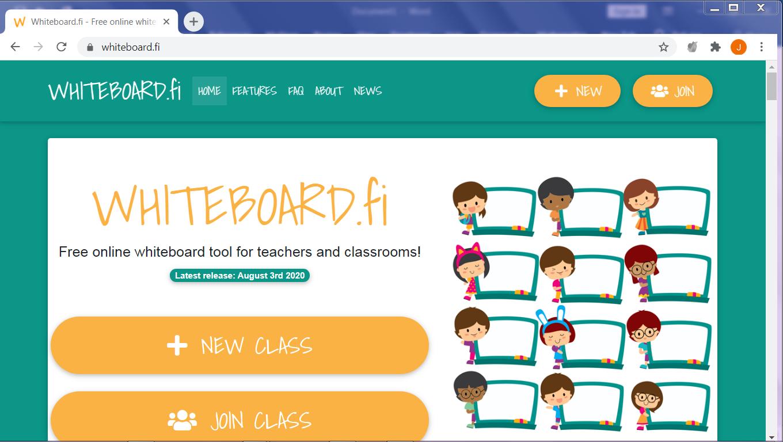 On-line Whiteboard Tool untuk Pembelajaran