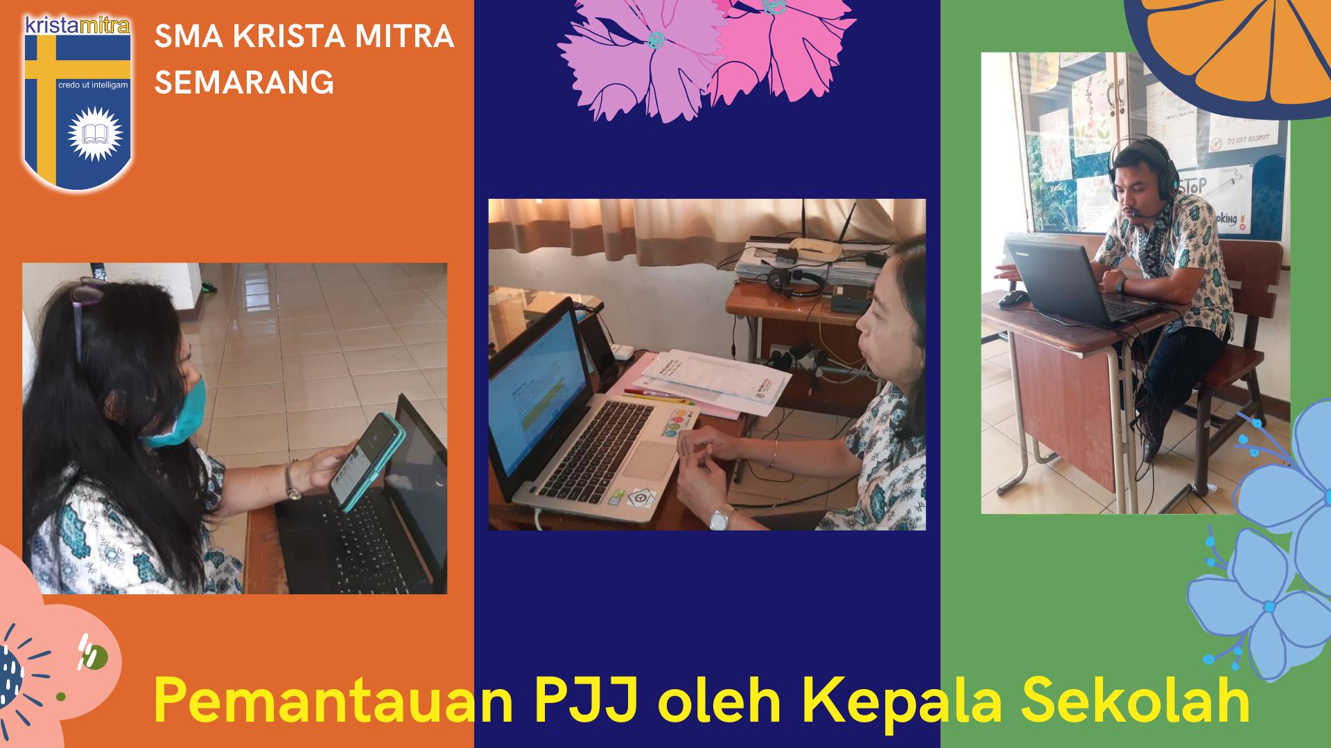 Pemantauan PJJ oleh Kepala Sekolah