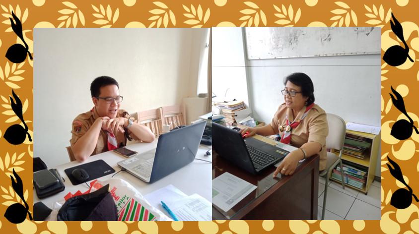 Belajar Sandi di Ekstrakurikuler Pramuka