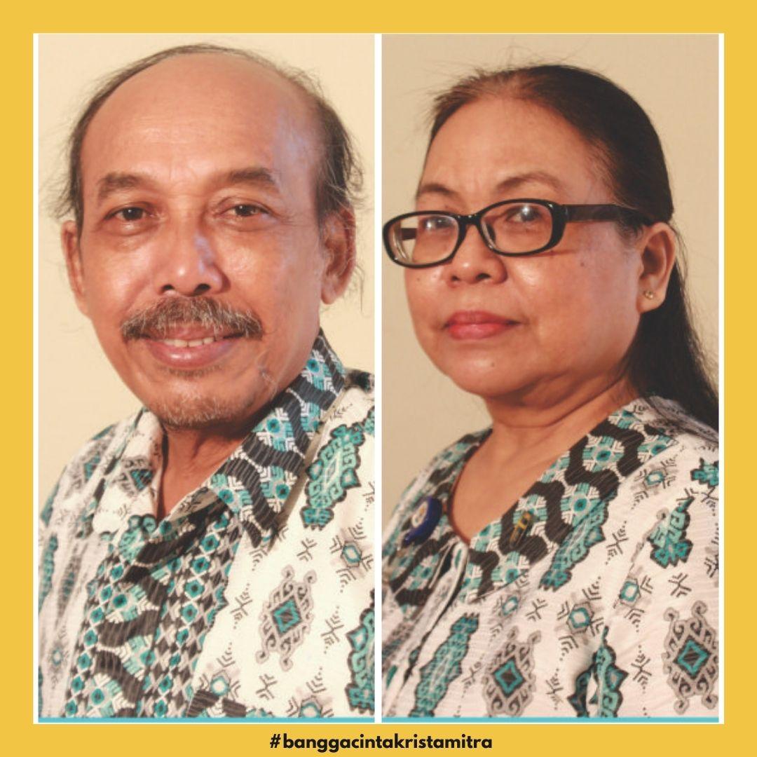 Dua Guru SMA Krista Mitra Purna Tugas Bulan Juni 2021