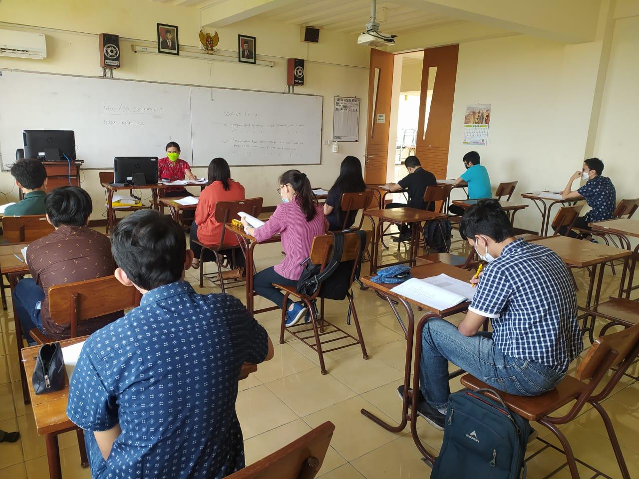 Psikotest Peminatan MIPA / IPS SMA Tahun Pelajaran 2021/2022