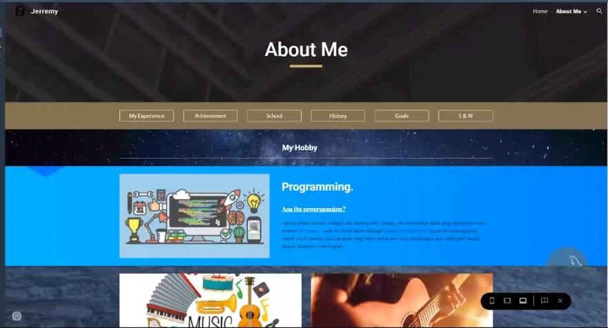 Membuat Website Versi Kamu
