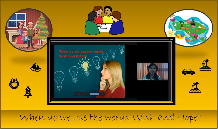 """When do we use the words """"wish and hope""""?"""